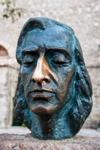 Büste von Frederic Chopin
