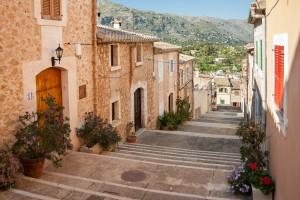 Treppen von Pollenca auf Mallorca