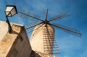 Sechsflügelige Windmühle Mallorcas